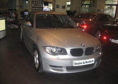 BMW 120 d plata