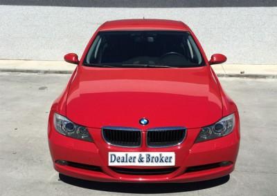 BMW 320D ROJO