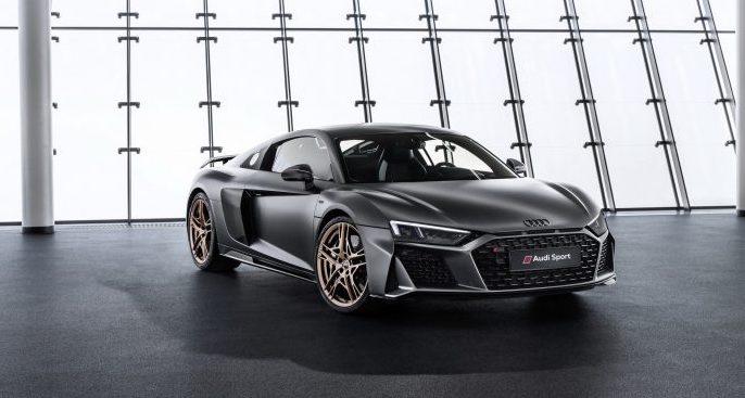 Audi R8 Decennium, celebrando los diez años del motor V10