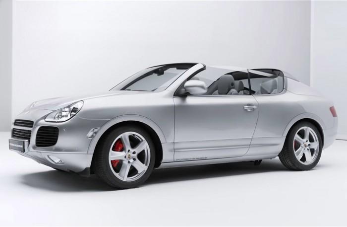 El Porsche Cayenne Cabriolet Concept que nunca vio la luz